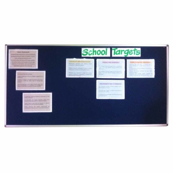 Standard Pin Board with Aluminium Frame