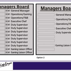 Managers Board