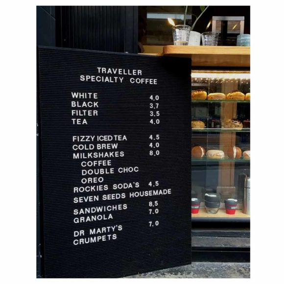 Open Face Grooved Letter Board- with frame